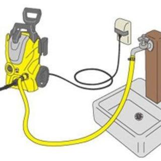 初回15分無料   ★高圧洗浄機★  を使ってお家の駐車場やベラ...