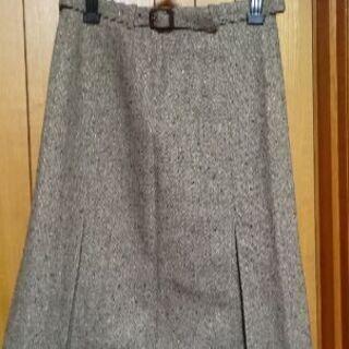 MK ミッシェルクラン ツイードスカート