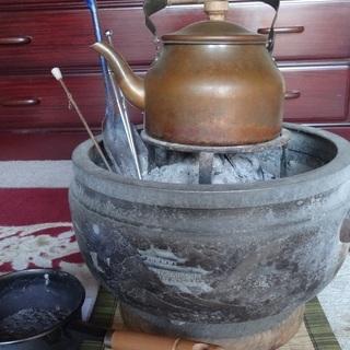 火鉢セット すぐ使えます 七輪