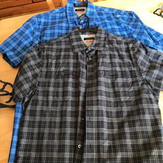 紳士 メンズ LーLL 大きめサイズ 半袖シャツ ポロシャツ 9...
