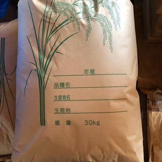 令和2年9月に稲刈りしたお米です。