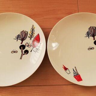 新品 ジョナサン プレート 皿 19cm 2枚セット 陶器