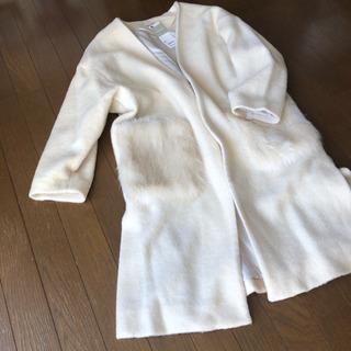 【未使用】GU ファーポケットコート