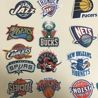 NBAバスケットボールステッカー
