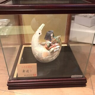 特選 雛人形 ひな人形 柿沼東光作 ケース飾り 木目込み人形 名...