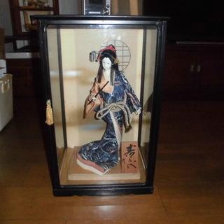 日本人形 寿喜代作 ガラスケース入り 値下げしました
