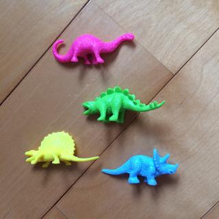 恐竜のおもちゃ 4点セット フィギュア