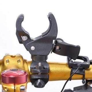 自転車 バイク用 LEDライト クランプ ホルダー 固定 ハンドル