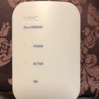 無線LAN aterm WR8165N  + スイッチ L…