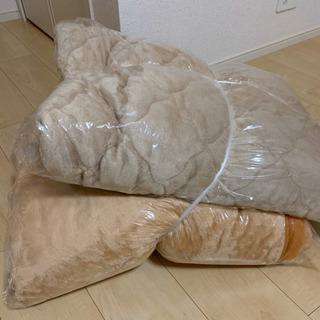 合わせ毛布&敷きパッドの画像