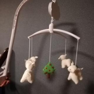 【トラセリア/trousselier】ベッドメリー 羊 赤ちゃん...