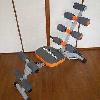 腹筋を鍛えるトレーニングマシン ワンダーコア