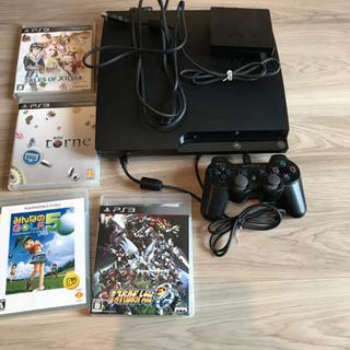 【PS3】本体+トルネ+ソフト3本
