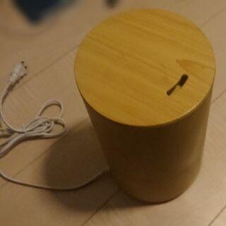 【値下げ】おしゃれ加湿器(Tall-wood BBH-61W)