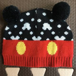 ミッキーの帽子 3、4か月ごろまで。
