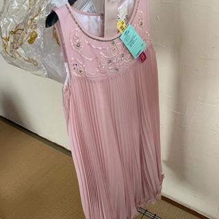 【譲渡済】パーティー用ドレス(ピンク、ボレロ付き)