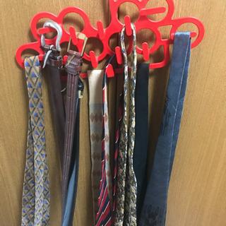 男性用ネクタイベルト各種