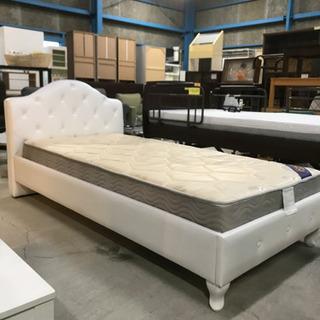 売れ筋商品!シングルベッド ベッドフレーム&マットレス