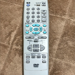 三菱 RM-D14 DVD用 リモコン