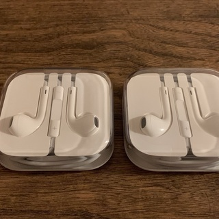 iPhone 5シリーズ/6シリーズ/SE 純正イヤホン 未使用...