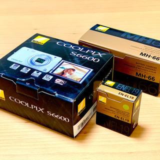 ◆準備中◆デジカメ【Nikon COOLPIX 6600 ブラッ...