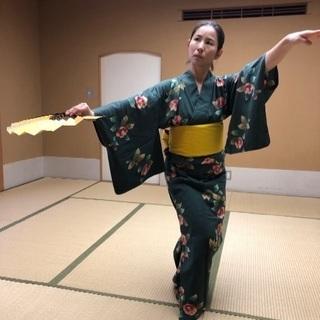1DAYやさしく楽しい日本舞踊講座 感染予防対策OK