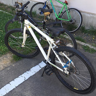 マウンテンバイクです。