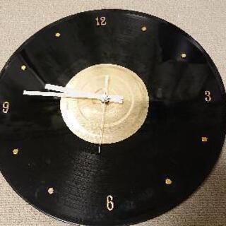 【2019/1/31期限】レコード型の壁掛け時計
