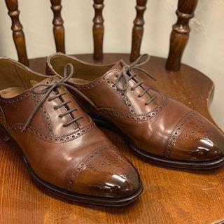 無料で靴磨きます(茶色、黒色限定)お気軽に♪