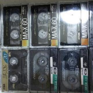 カセットテープメタル10本