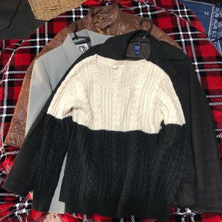 アウター四点 + セーター一点  レディース お値下げ