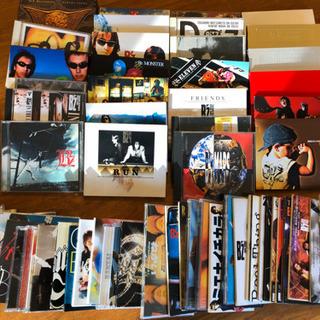 B'zのCDあげます アルバム26枚シングル36枚