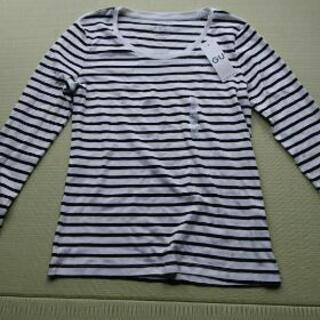 ボーダーTシャツ(GU)