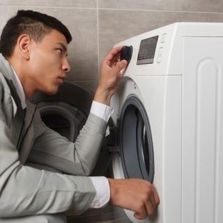 洗濯機設置を致します。