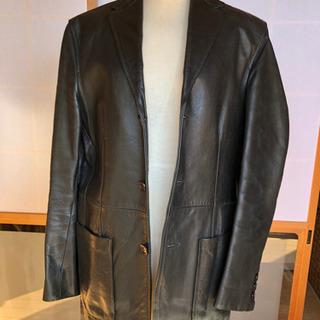 【値下げしました❗️】コムサのレザージャケット