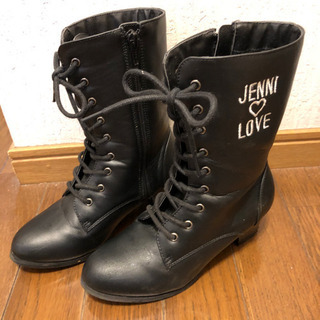 JUNJUN ブーツ 21センチ