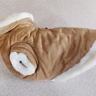 犬用 服 スエードコート 美品USED品