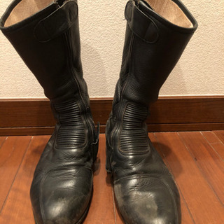 お譲りします クシタニ オンロードブーツ 26.5cm(ブラック)