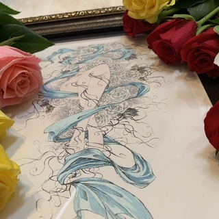 伴野加代子 銅版画展「ダズンローズ」