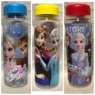 アナ雪2 クリアボトル3種セットの画像