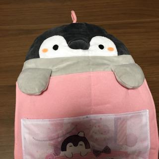 新品!ペンギンのウォールポケット