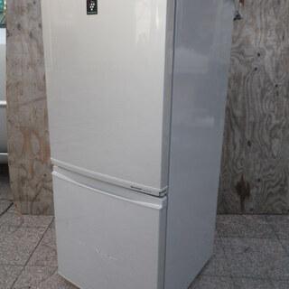 ■配達します。■シャープ 137L 冷凍冷蔵庫 SJ-PD14W...
