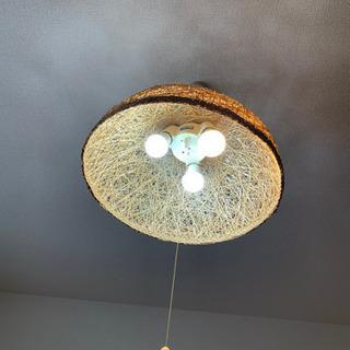 オシャレ照明✨美品+電球4個お付けいたします✨