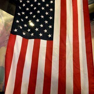 アメリカ国旗 星条旗 大きめ150cm USA直輸入  店舗引き...