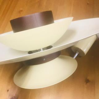 【美品】ペンダントライト 照明 吊り下げ式電気