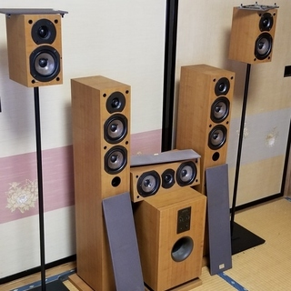 🔴ONKYO 5.1ch ホームシアタースピーカーセット - 仙台市