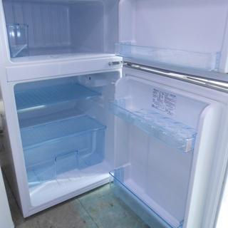 96L 2ドア冷蔵庫 2016年