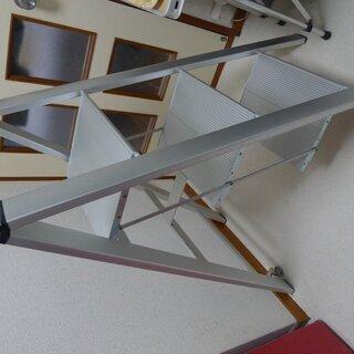 アルミ製薄型脚立(踏台)