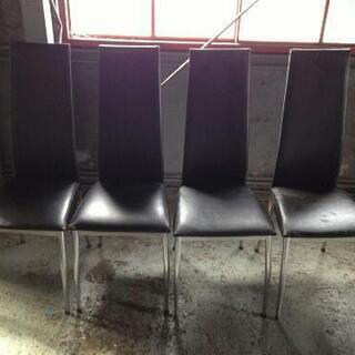 椅子 4脚 セット 引き取り限定 差し上げます