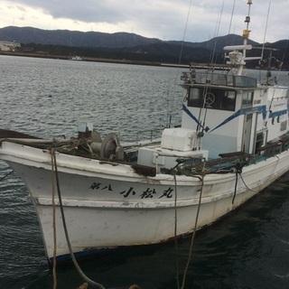 不動遊漁船
